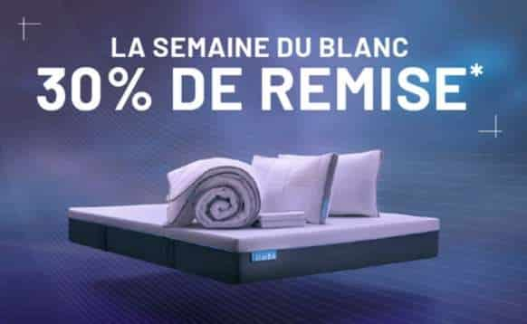 30% de réduction sur toute la gamme Simba Sleep à partir de 200€ (matelas, oreillers, couettes…)
