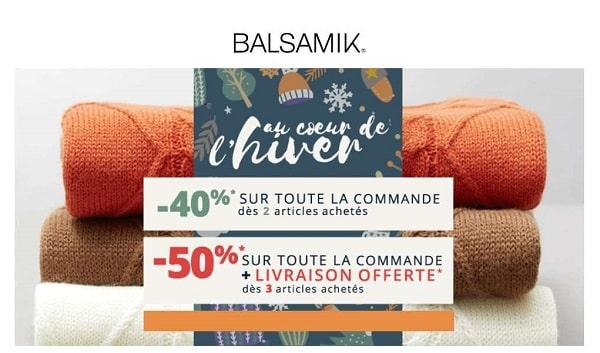 40% De Remise Sur Votre Commande Balsamik Dès 2 Articles