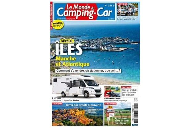 abonnement le monde du camping car magazine pas cher