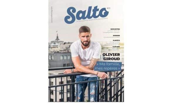 Abonnement gratuit au magazine sur le sport des enfants Salto Mag (version papier)