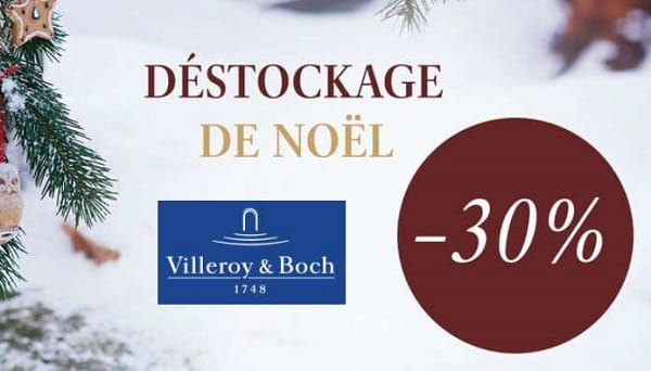 Déstockage Des Articles De Noël De Villeroy & Boch