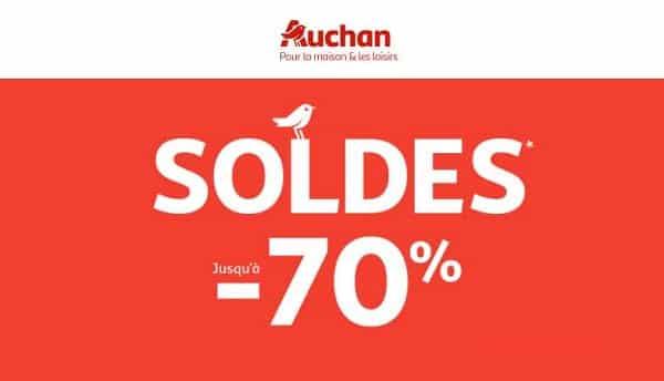Lancement Des Soldes Auchan