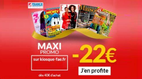 Maxi Promo Abonnements Magazines Pendant Les Soldes
