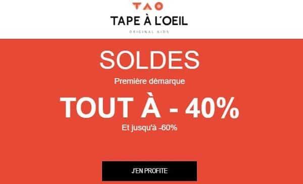 Minimum 40% De Remise Sur Les Soldes Tape à L'œil