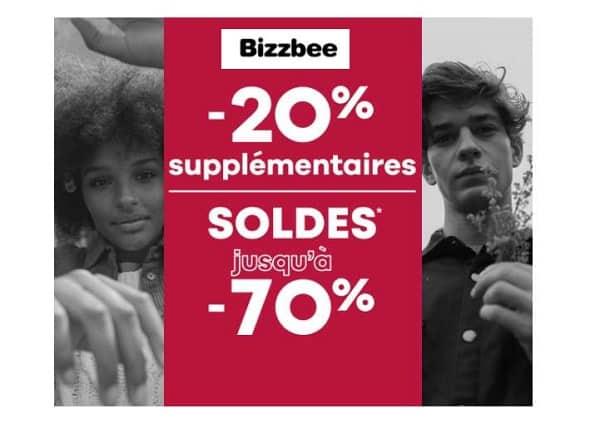 Nouvelle Démarque Soldes Bizzbee 20% Remise Supplémentaires