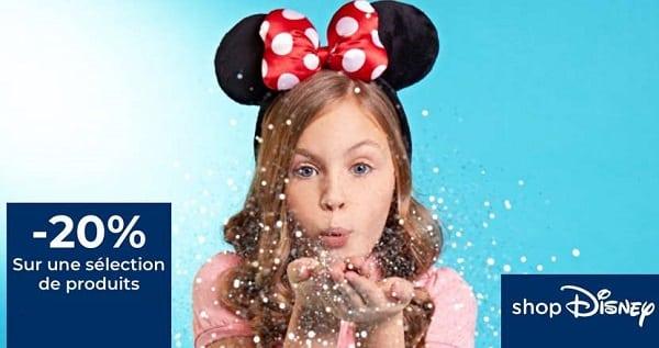 Offre Spéciale Shop Disney 20% De Remise Sur Une Sélection D'articles
