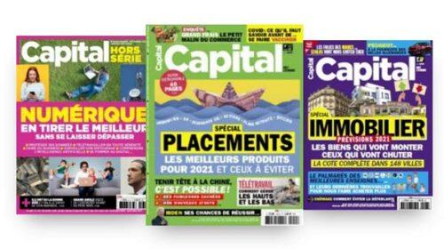 Remise Sur Votre Abonnement Au Magazine Capital