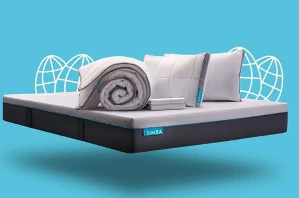 299€ d'achat sur simba (matelas, oreillers, couettes…) = 35% de remise immédiate