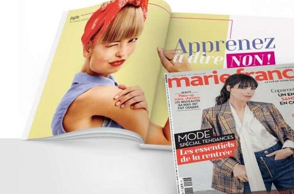 Abonnement Au Magazine Marie France Pas Cher
