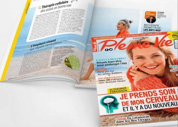 abonnement magazine pleine vie pas cher