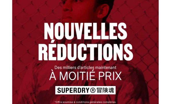 Des Milliers D'articles Moitié Prix Avez Les Nouvelles Démarques Superdry