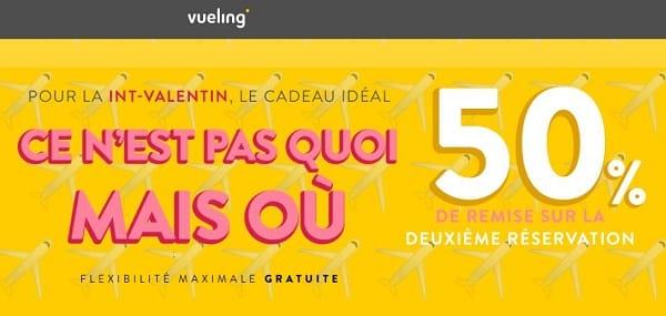 Offre Spéciale Saint Valentin Vueling