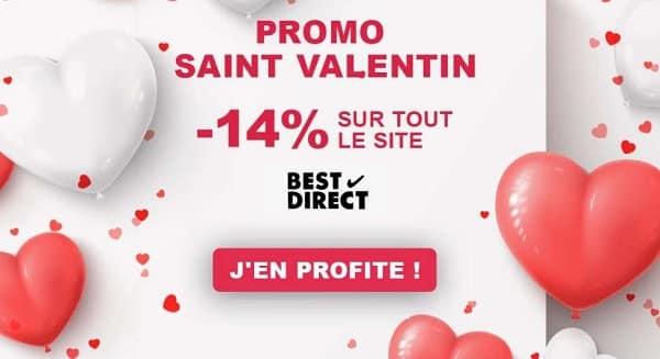 Réduction St Valentin Best Direct 14% De Réduction Sur Tout Le Site