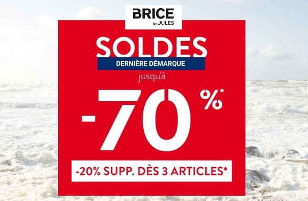 soldes mode homme brice by jules