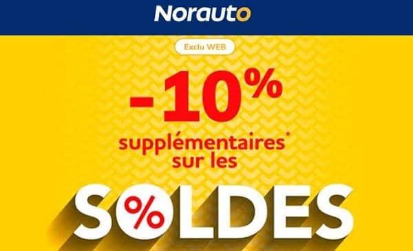 toute dernière démarque des soldes de norauto + 10% supplémentaire