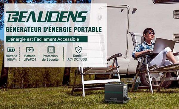 générateur solaire d'énergie portable beaudens