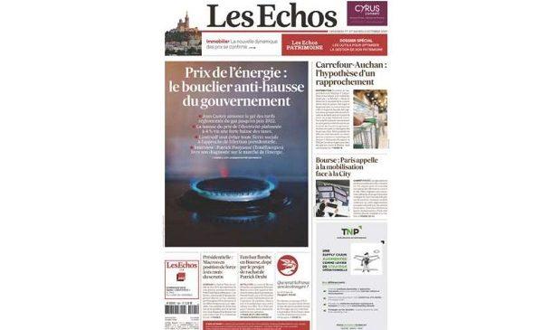 Abonnement Les Echos Week-End pas cher