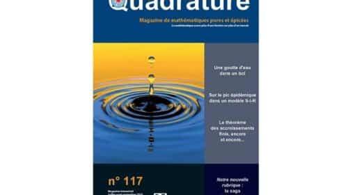 abonnement revue de mathématiques quadrature pas cher