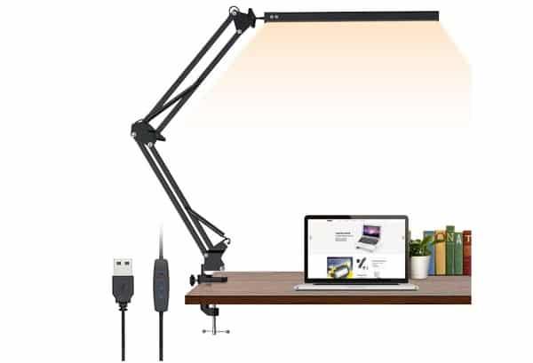 lampe de bureau led pliable elekin tlnew