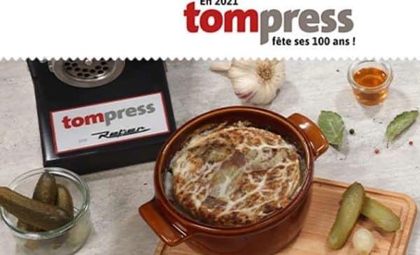 bon d'achat tom press (articles de cuisine) moitié prix