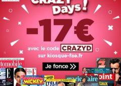 ⚡ Code pour obtenir une reduction de 17€ sur vos abonnements magazines (=abonnement dés 6,90 €!)