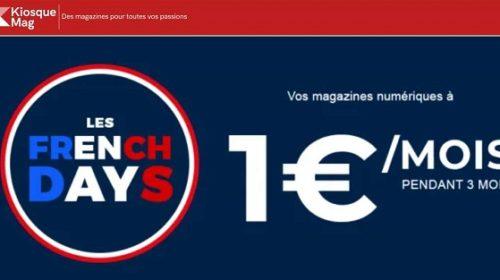 les french days magazine numérique sur kiosquemag