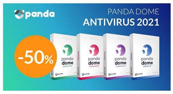 toutes les suites de sécurité panda dome à moitié prix