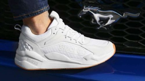 paire de sneakers sparco sp fx full white