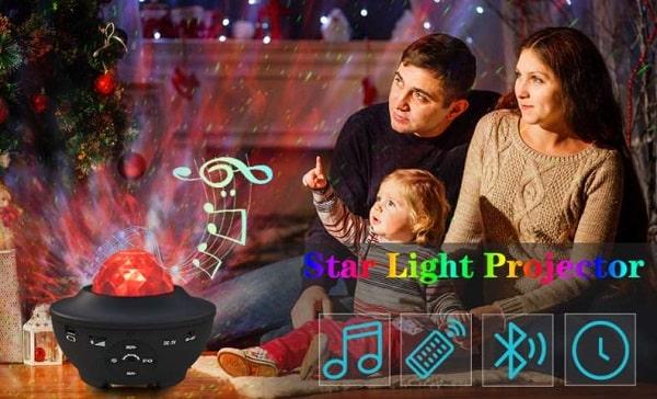 projecteur de ciel étoilés avec hautparleur bluetooth sylvwin