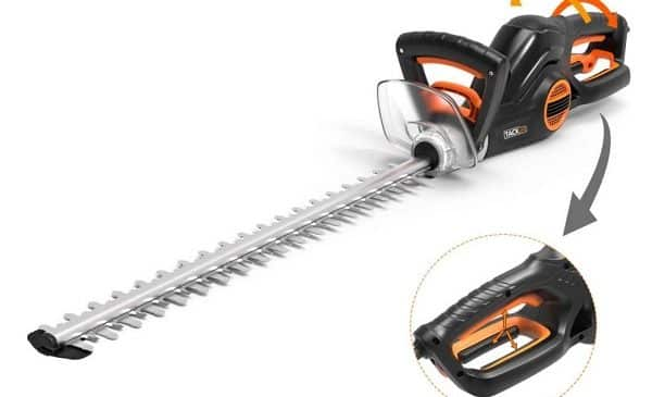 taille haie électrique 600w tacklife ght1a