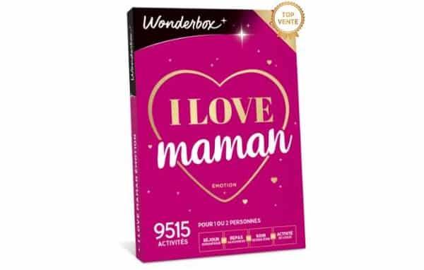 1 coffret cadeau fête des mères wonderbox acheté