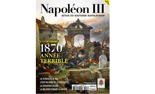 ⚡Abonnement au magazine Napoléon III pas cher : 22€ l'année au lieu de 54€