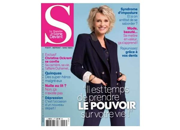 abonnement au magazine s le magazine de sophie davant pas cher