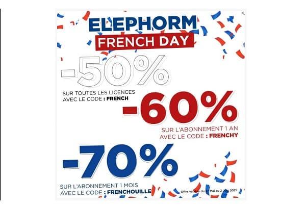 formations en ligne pas chères pour les french days avec elephorm