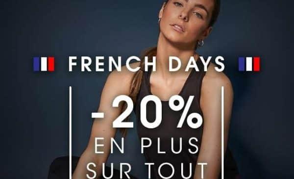 french days dare2b 20% en plus sur tout