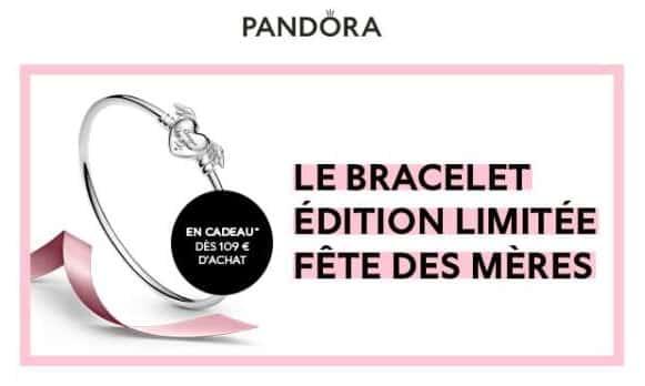 offre spéciale fête des mères pandora 1 bracelet Édition limitée offert