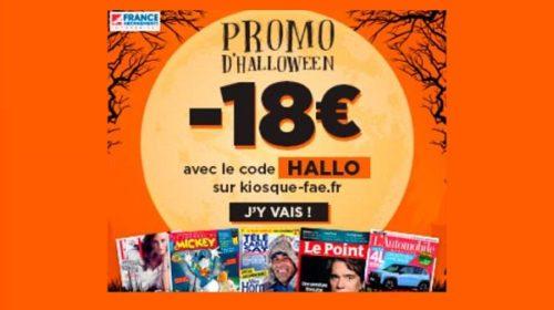 Promo Halloween abonnement Magazine