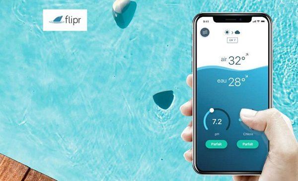 connectez votre piscine pour en profiter pleinement en oubliant la corvée et réduisant son coût d'entretien avec flipr