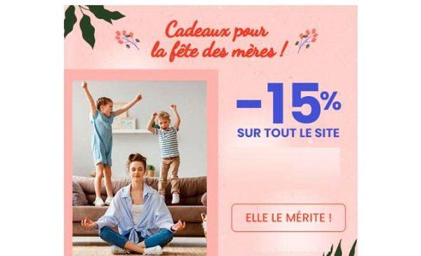 réduction sur vos achats surbest direct pour la fête des mères
