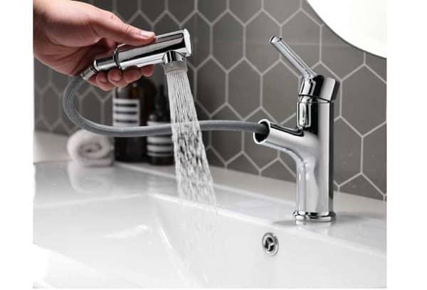 robinet de cuisine salle de bain avec douchette extractible umi. by amazon
