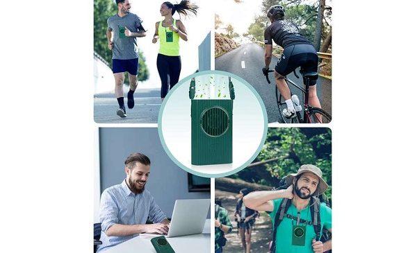 ventilateur électrique portable avec tour de cou yumcute