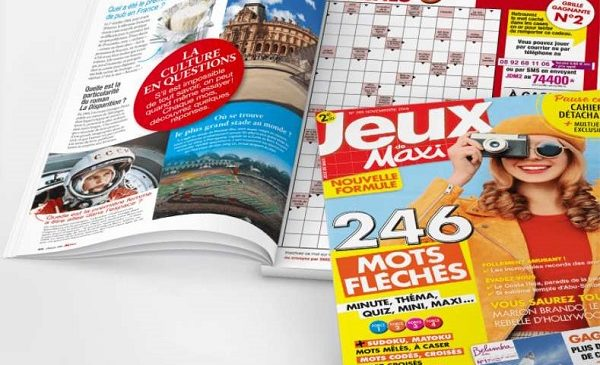 abonnement au magazine jeux de maxi pas cher