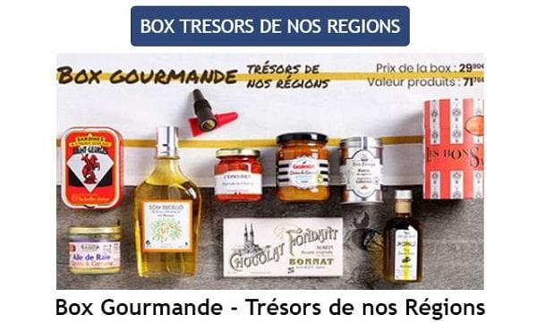 Box Gourmande Trésors de Nos Régions Cuisine et Vins de France