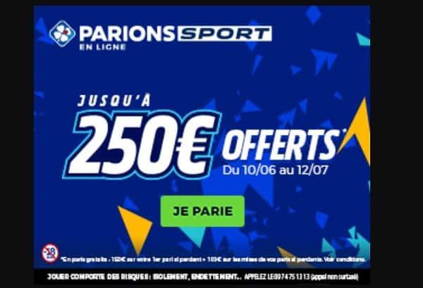 euro 2021 parionsport 150€ offerts en paris gratuits sur votre 1er pari si perdant