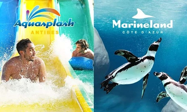 Offre billet combiné pour Marineland et Aquasplash