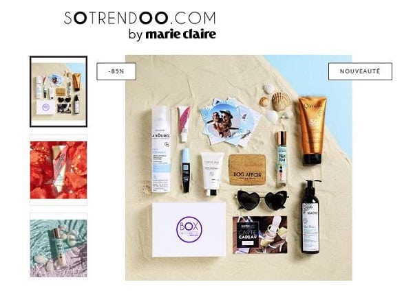 Offre spéciale Box Beauté Cosmopolitan Summer Break