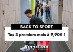 offre spéciale salle de sport keepcool