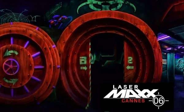 parties de laser game à lasermaxx cannes 06 pas chères