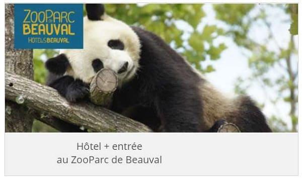 promotion séjour zooparc de beauval (hôtel + entrée) avec leclerc voyages