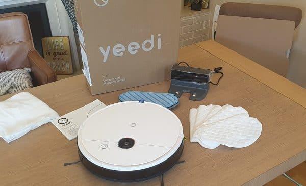 robot aspirateur hybride yeedi 2